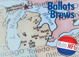 Ballots & Brews 2018 Regional Meetings