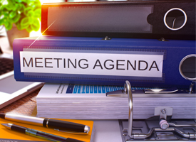 January 22, 2018 — Environmental Meeting Agenda